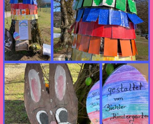 Pips und der Regenbogen - gestaltet von den Kindern der Bichler Kinderkrippe und des Kindergartens